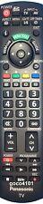 ORIGINAL PANASONIC N2QAYB000352 REMOTE CONTROL THP50G10A THP50X14A THP54S10A ETC