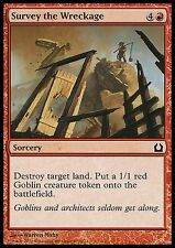 Survey the Wreckage X4 NM RtR Return to Ravnica MTG Magic Red Common