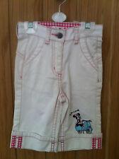 Disney Girls White Denim Shorts 104cm - Age 4 Years
