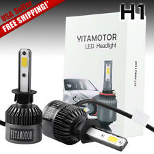 Yitamotor White High Power COB 200W 20000LM H1 LED Headlight HID CONVERSION KIT