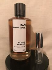 ROSES VANILLE by Mancera 5ml Niche Perfume Sample - ROSE VANILLA * Luckyscent *