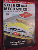SCIENCE and MECHANICS magazine December 1954 Studebaker 1955 Commander