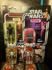 New listing Star Wars Vintage Collection Wave 1 2020 wolffe, Power Droid, Luke Stormtrooper,