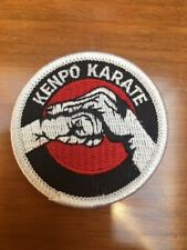 Kenpo Karate Fist Sew On Patch for Uniforms Bags Hats Jackets Backpacks Clothing