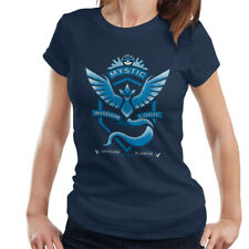 Pokemon Go Team Mystic Crest Women's T-Shirt