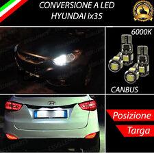 LUCI POSIZIONE A LED + LUCI TARGA A LED CANBUS HYUNDAI ix35 NO ERROR