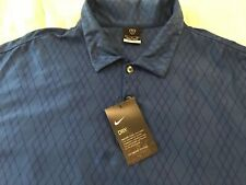 New Nike Tour Performance Uv Dri Fit Polo Short Sleeved Golf Shirt Mens Xl $59
