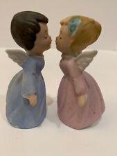 Vintage Kissing Angels Figurines