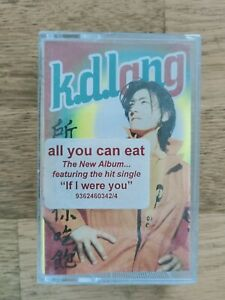K.D.Lang All You Can Eat Cassette tape free shipping
