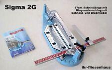 Sigma Profi Fliesenschneider 2G 37cm Schnittlänge m. Diagonalanschlag Brechvorr.