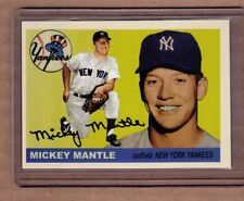 Mickey Mantle New York Yankees custom card by Bob Lemke 1955 style #203