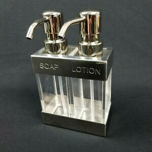 2 in 1 Soap Lotion Dispenser Bathroom Accessories Bathroom Countertop Decor