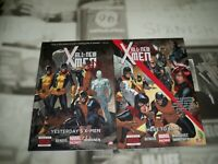 ALL-NEW X-MEN VOL #1 & 2 HARDCOVER YESTERDAY'S Marvel Comics 1st Editions NM
