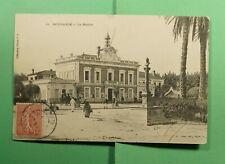 DR WHO 1907 FRENCH ALGERIA BOUFARIK POSTCARD TO CANADA  f54016