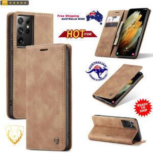 Horizontal Flip Leather Case with Holder & Card Slot & Wallet For Samsung Galaxy