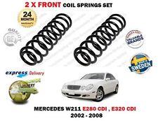 FOR MERCEDES W211 E280 CDI E320 CDI AVANTGARDE 2002-> 2X FRONT COIL SPRINGS SET