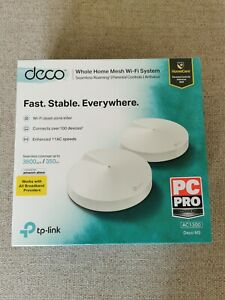 TP-LINK Deco M5 Whole Home WiFi System - Twin Pack - *Opened only*