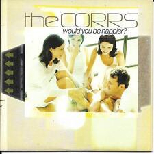 CD CARTONNE CARDSLEEVE THE CORRS WOULD YOU BE HAPPIER ? 2T DE 2001 ETAT NEUF