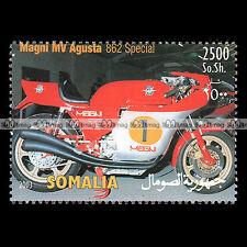 ★ MV AGUSTA MAGNI 862 SPECIAL ★ SOMALIA Timbre Moto / Motorrad Stempel #288