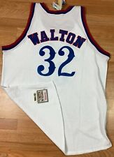 NWT'S Mitchell & Ness Los Angeles Clippers Bill Walton NBA Jersey SZ 54 Made USA