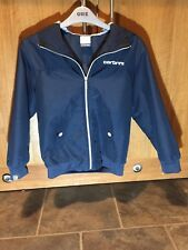 Navy Blue Carbrini Smart hooded Jacket Age 8-10, great condition