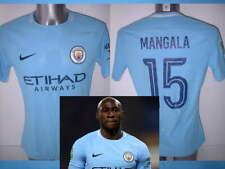 Manchester City Mangala Nike Player Matchworn Football Shirt L Carabao Cup Top