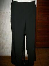Pantalon habillé polyester noir stretch fluide S.OLIVER SELECTION 46F W36 16VH23