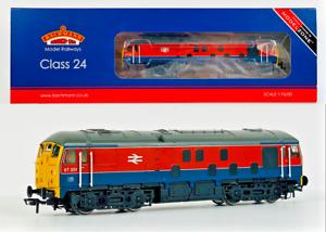 BACHMANN 00 GAUGE - 32-425X - CLASS 24 DIESEL 97201 RTC RED BLUE MODELZONE EXCL.