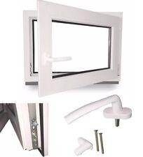 Fenster Kellerfenster Kunststofffenster Dreh Kipp viele Zwischen Größen NEU TOP