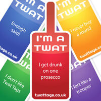Funny TwatTags Party pack Novelty Christmas Secret Santa Gift Ideas for him her