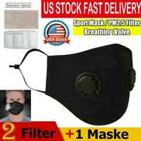 Air Purifying Mask carbon Filter Cotton Mouth Respirator Muffle Anti Haze Fog PM
