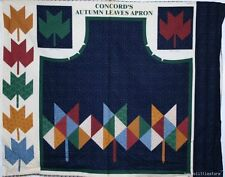 New Autumn Leaves Apron 100% Cotton Fabric Project Panel Fall Sewing Material