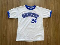 Vintage Mariners Ken Griffey Jr 24 T Shirt Youth Large Anvil