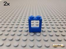 Lego 2377 Fenster Eisenbahn braun 1x2x2 ohne Scheibe 1 Stück 42 Z 13