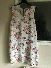 Ladies Multicoloured Linen Summer Dress by George Size 20