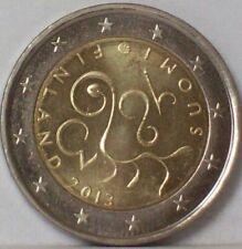 finlande 2€URO*COMMEMORATIVE FINLANDE 2013 anniversai du parlament UNC NEUVE