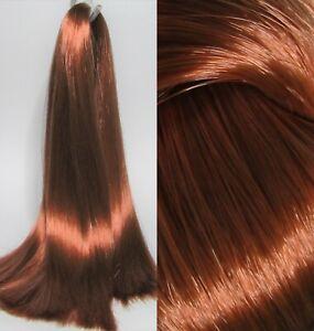 COPPER Auburn Saran Doll Hair for Custom Reroots