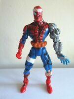 "Marvel Vintage Spiderman 1996 Cyborg Action Figure Toy Biz 5"""