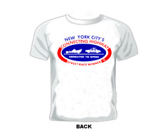 Vintage RACE/GASSER T-shirt  NEW YORK CITY'S CONNECTING HIGHWAY STREET RACER