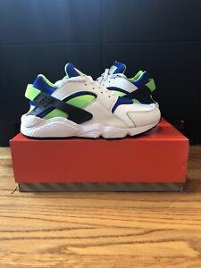 Size 11.5 - Nike Air Huarache 2021 Scream Green Deadstock