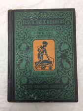 Vintage 1930 Book Elson Basic Readers