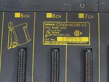 Omron Sysmac PLC BC081-V2 CPU Base Unit C200H