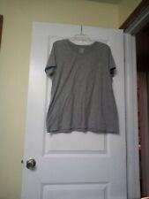 Women's Time And Tru Grey Knit Top Size XXXL