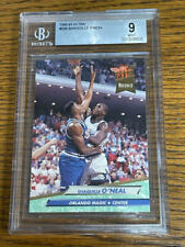 New listing 1992-93 Fleer Ultra Shaquille O'Neal Shaq RC Rookie BGS 9 Mint