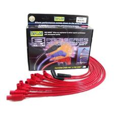 Taylor Spark Plug Wire Set 74225; Spiro Pro 8.0mm Red for Corvette LT1, LT4