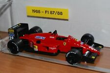 Model Ferrari 1:43 Ferrari F1 1988 F1 87/88 num 8 BERGER