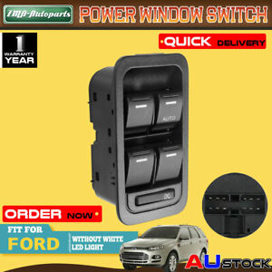 Electric Master Window Switch for Ford Territory SX SY SZ Non-illumination 12Pin