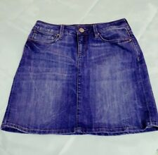 Mavi Jeans Skirt Rita Womens XS 100% Cotton Denim Blue Pockets