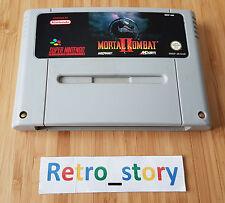Super Nintendo SNES Mortal Kombat II PAL