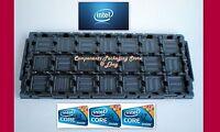 5 - Original Intel Tray for CPU Socket LGA 1155 1156 1150 1151 0 Fits 105 CPU's